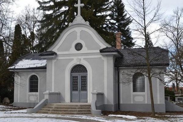 Bývalá márnica v Lučenci.
