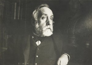 Autoportrét. Fotografia z roku 1895.