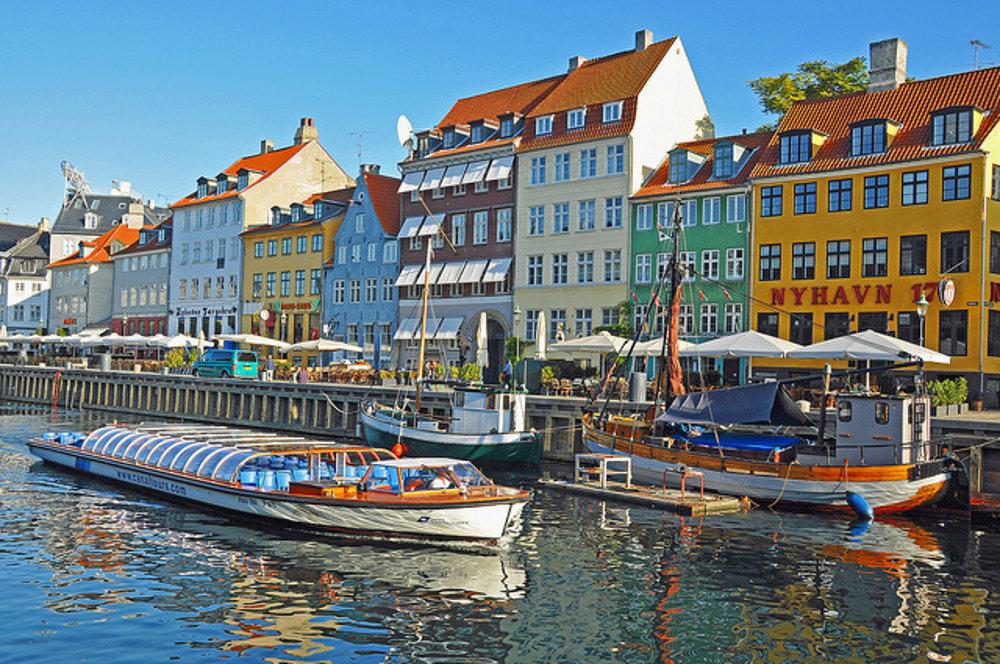 Nyhavn Canal v dánskej Kodani.