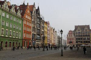 Wroclaw, Staré mesto.
