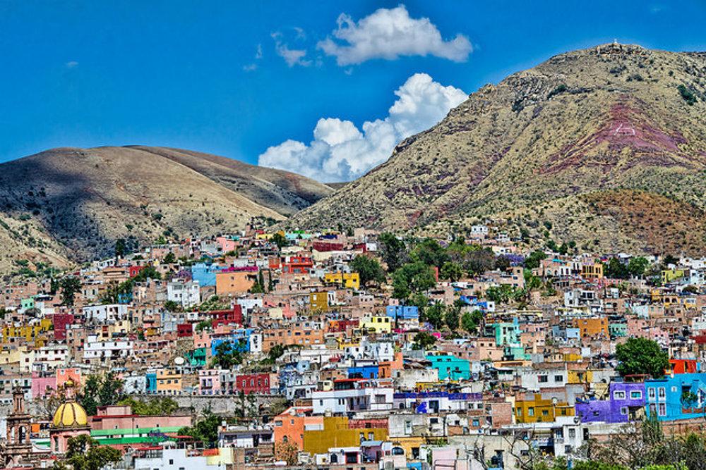 Mexické Guanajuato.