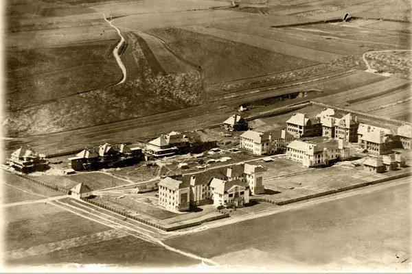 Košice sa menia. Takto vyzeral na začiatku areál nemocnice na Rastislavovej ulici.
