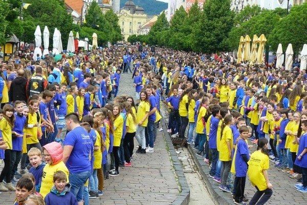 Košice chcú prekonať Guinessov rekord. Tancovať však musí 8 tisíc účastníkov.