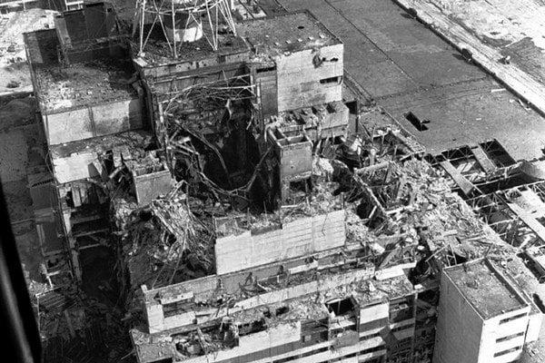 Štvrtý reaktor. Keď vybuchol, zamestnanci si mysleli, že došlo k zemetraseniu.