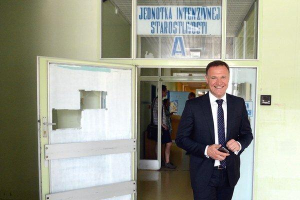 Minister zdravotníctva Viliam Čislák