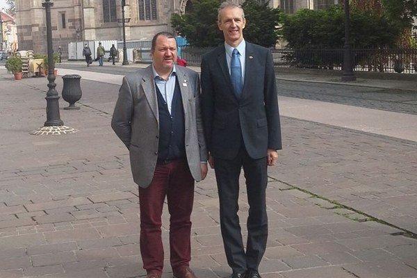 Europoslanci. Branislav Škripek (OĽaNO) a Ivan Štefanec (KDH).