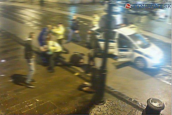 Incident ukončila polícia.