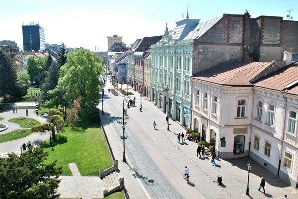 Pohľad na Hlavnú. Atraktívne online zábery z centra by mohli do Košíc prilákať ďalších turistov.