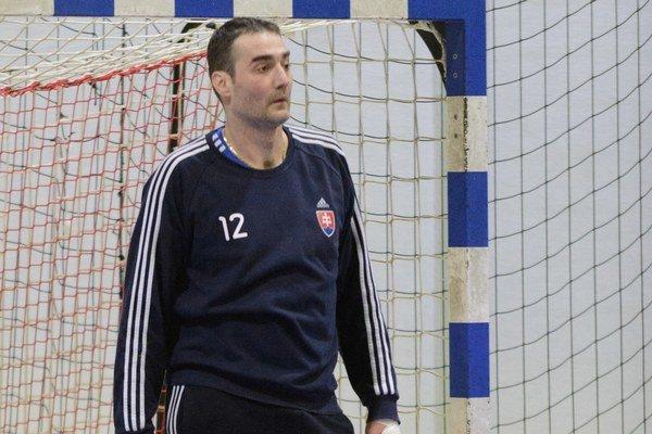 Richard Štochl. V drese, ktorý má najradšej, v drese slovenskej reprezentácie.