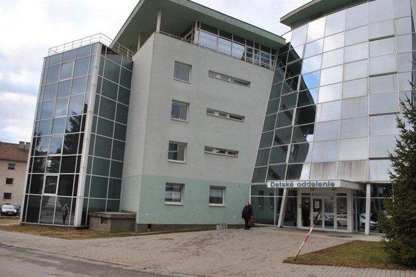 Prešovská nemocnica. Tu sa stav chlapčeka skomplikoval.