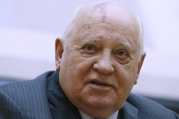 Posledný sovietsky vodca Michail Michail Gorbačov.