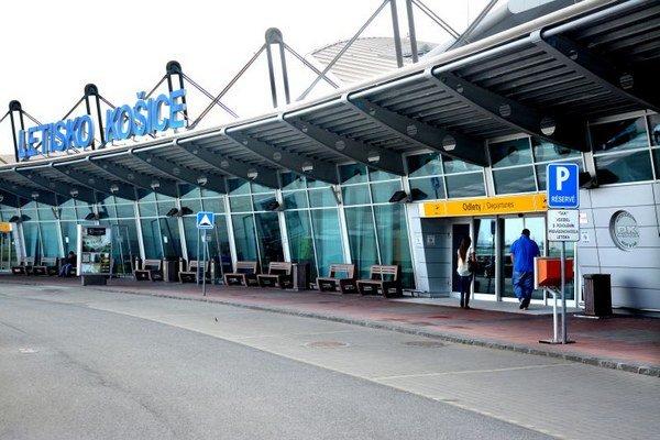Letisko Košice. Počet cestujúcich z roka na rok rastie.