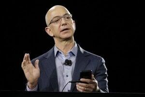 Výkonný riaditeľ Amazonu Jeff Bezos.