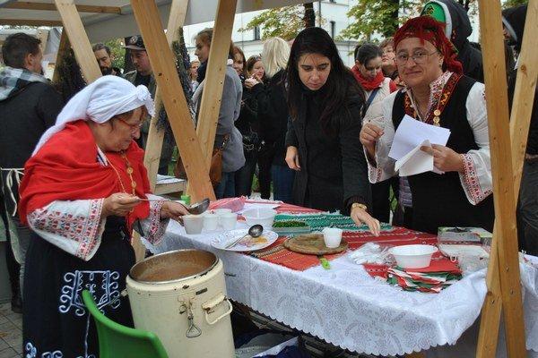 Prezentovali svoju kultúru. Bulhari žijú aj medzi nami v Košiciach.