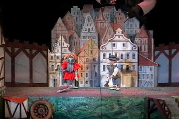 Momentka z predstavenia Potkaniar.