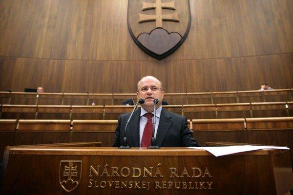 Bývalý minister práce Jozef Mihál (SaS).