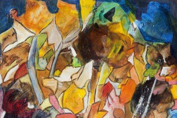 Jeseň ako inšpirácia. Odrážajú ju maľby Andyho Gore.