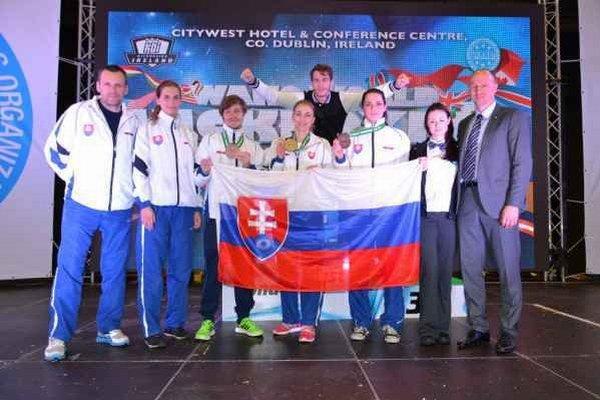 Slováci v Dubline. Z majstrovstiev sveta priviezli ďalšie tri medaily.