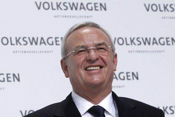 Šéf automobilky Martin Winterkorn.