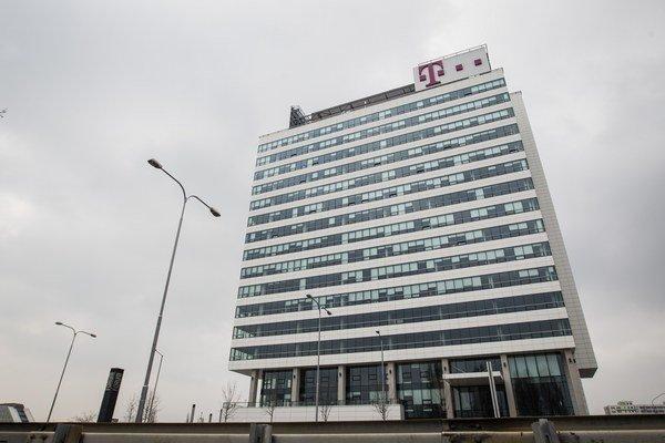 Sídlo spoločnosti Slovak Telekom v Bratislave.