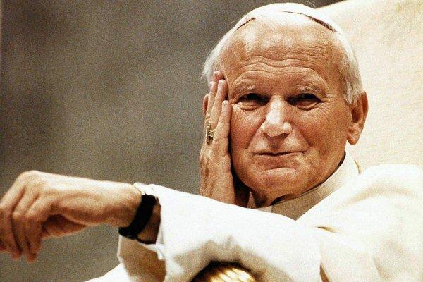 Poľský rodák Karol Wojtyła. Vlani bol vyhlásený za svätého.