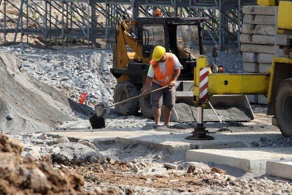 V stavebníctve sú reštrukturalizácie populárne.
