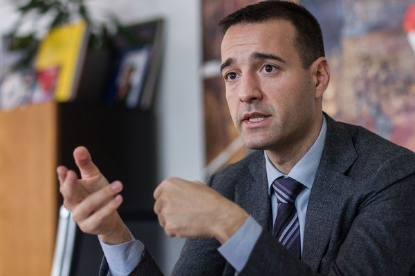 Generálny riaditeľ Slovenskej pošty Tomáš Drucker.