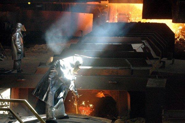 U. S.  Steel. Firme sa v roku 2014 slušne darilo, pocítili to aj zamestnanci.