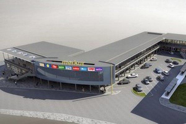Vynovený Merkúr. Tak má vyzerať obchodné centrum po miliónovej rekonštrukcii.