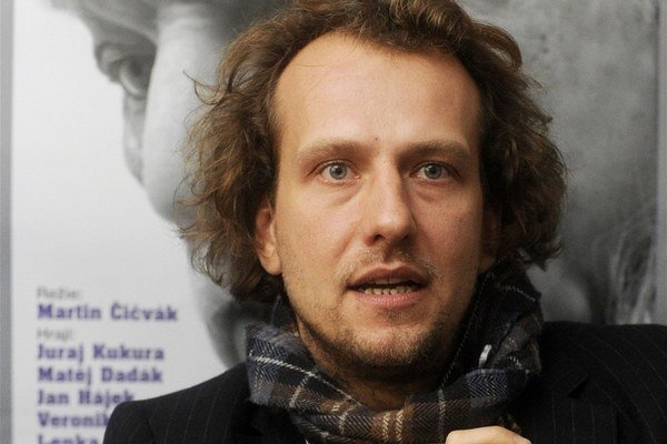 Martin Čičvák. Režisér a Juraj Kukura sú dlhoroční priatelia.