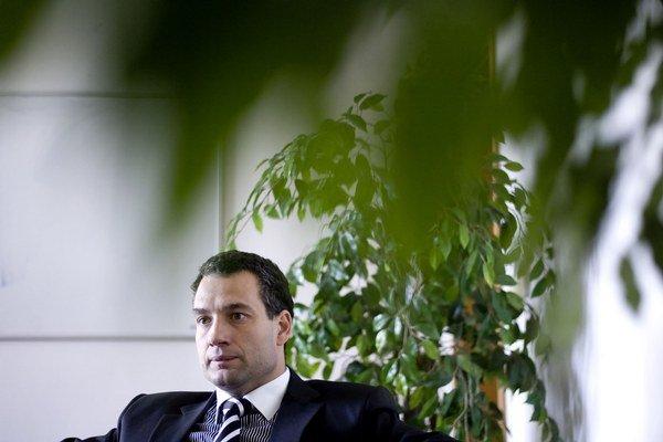 Generálny riaditeľ štátnej Všeobecnej zdravotnej poisťovne Marcel Forai.
