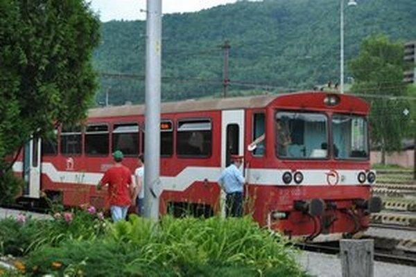 Železničná stanica v Margecanoch. Čaká ju zhustenie vlakových spojov.