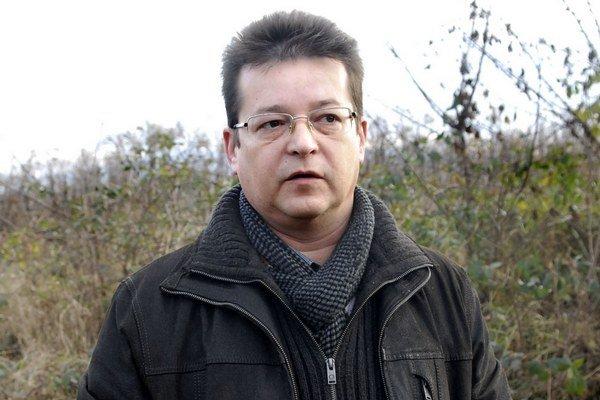 Nový starosta. Ladislav Brada.