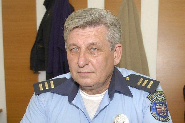 Štefan Fejedelem. Teší sa, že políciu ľudia už berú vážne.