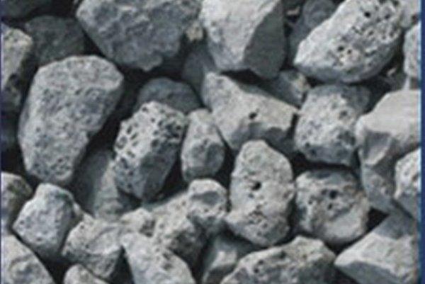 Umelé kamenivo. Vyrába sa vo viacerých frakciách.