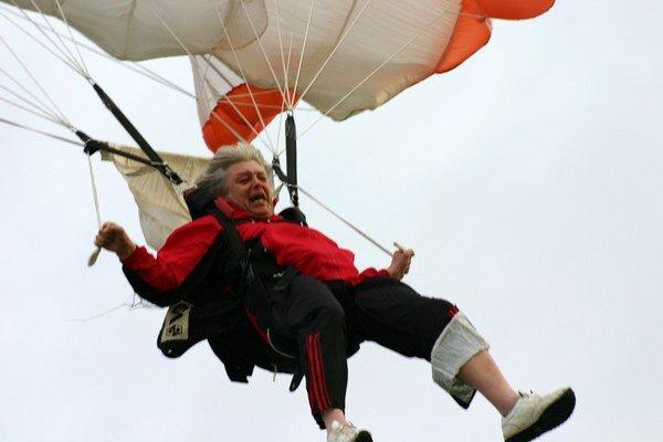 Adrenalín je pri každom skoku.