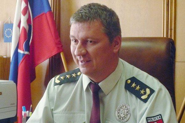 Juraj Leško. Tvrdí, že ľudí najviac trápi pouličná kriminalita.