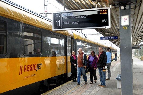 Nový žltý vlak. Súkromník si vybral najlukratívnejšiu trasu.