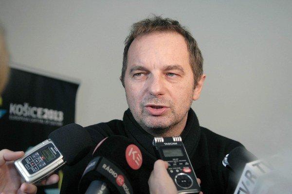 Ján Sudzina. Šéf neziskovky Košice 2013.