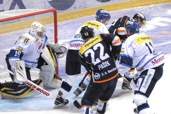 Zajtra sa začne štvrťfinálová séria. V prvých dvoch zápasoch s Martinom majú výhodu domáceho ľadu Košičania.