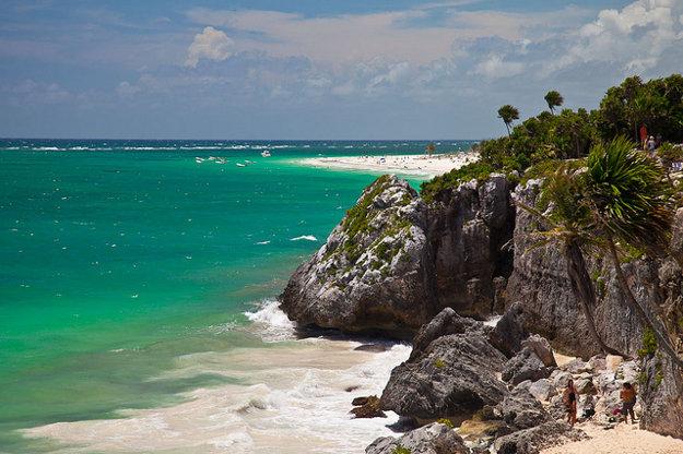 Mayská riviéra je najdôležitejšia mexická turistickou oblasť.