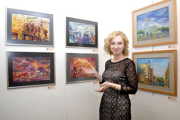 Mesto histórie i barikád. Natália Studenková zachytila dva pohľady na Kyjev.