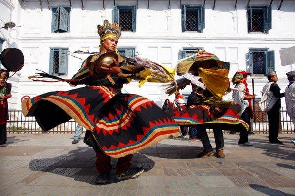 festival v Nepále
