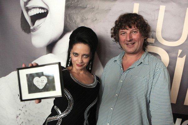Lucie Bílá a Petr Malásek. Sľubujú, že koncert bude neopakovateľný zážitok.
