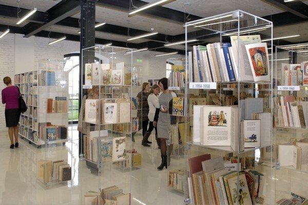 Slávnostné otvorenie. Odvčera majú malí čitatelia v Kulturparku svoj raj.