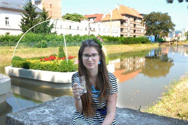Zuzana Pacáková (27). Zakladateľka košickej Bielej noci. Inšpirovala sa ňou v Paríži.