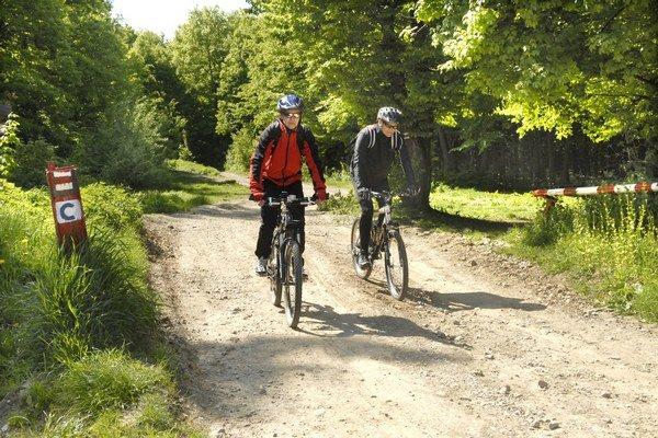 Pribudnú ďalšie cyklotrasy. Jazda na bicykloch je čoraz obľúbenejšia.