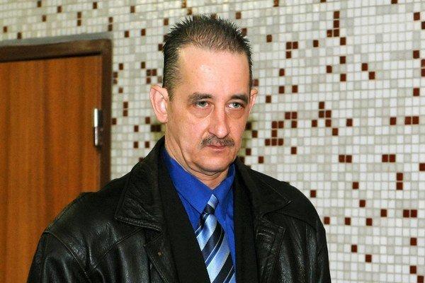 Július Krátky na košickom súde.
