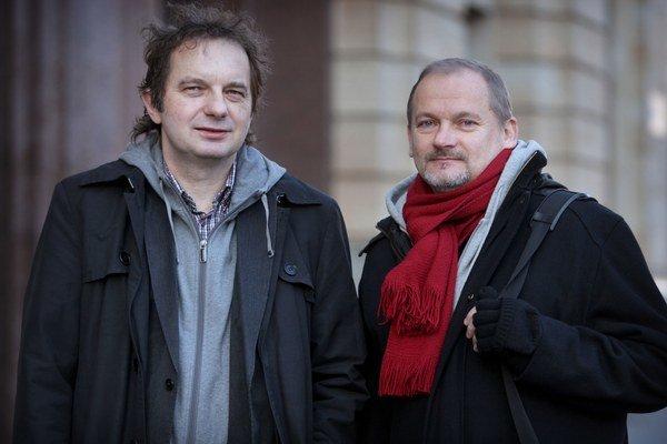 Ján Sudzina (vľavo) a Vladimír Beskid.