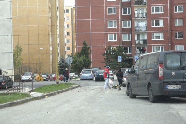 Maďarská ulica. Od jari by mala byť plynulejšia.